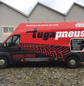 TugaPneus - Decoracao de viatura