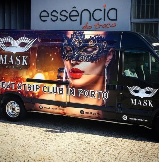 Mask Porto - Decoração de viatura